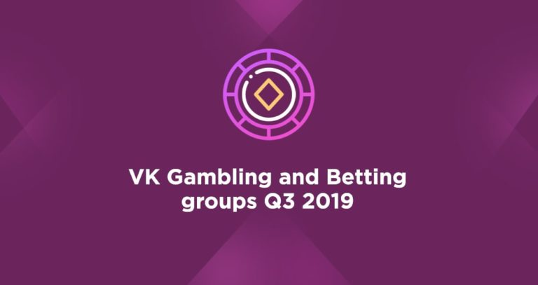 VK Gambling and Betting groups Q3 2019